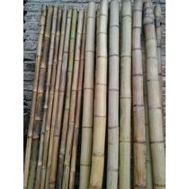 Cañas Tacuara Bambú, Cercos, Divisiones, Techos De Pergolas