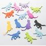 Gatos, Formas En Goma Eva, Decoraciones 30 Unidades