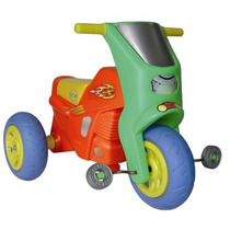 Triciclo Moto Twister Con Pedales Marca Vegui