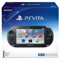!!! Ps Vita Slim , Play Station Vita Negro En Wholegames !!!
