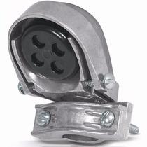 Mufa Con Abrazadera Aluminio Tubo De 1 Pulgada Volech 46940