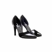 Due Per Nicchi 601 - Zapato Mujer Cuero Gamuza Vestir