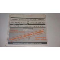 Ingresso Geral Final Da Libertadores 1992