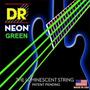 Dr Cuerdas Bajo Neon Verde 45 105 Fosforecentes Bass Strings