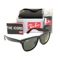 Gafas Ray-ban Original Wayfarer Asian Fit Rb 2140f 901s 54m