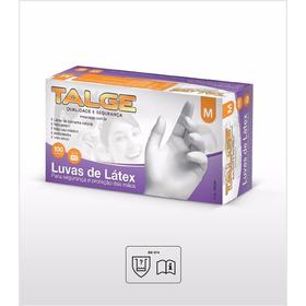 4eab7447f77b26 Luva De Procedimentos C/100 Látex C/ Talco Tamanho M Talge - R$ 24 ...