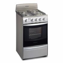 Cocina Patrick Multigas Gris / Acero Inox 4h 8151