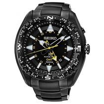 Relogio Seiko Sun047p1 Prospex Kinetic Gmt Automatico Black