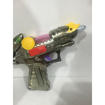 Pistola De Brinquedo Com Luz E Som