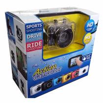 Câmera Filmadora À Prova Dágua Sportcam Sport Gopro 720p