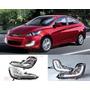 Neblinero Con Led Hyundai New Accent Rb 2011-2016