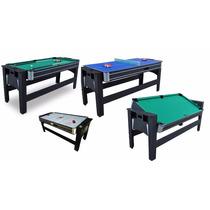 Mesa De Ping Pong/ping Pong,sinuca,air Hockey (3 Em 1)