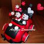 Adorno Auto Minnie Mickey