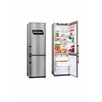 Heladera Kohinoor Kgx 4094/6 Freezer Abajo 367 L Color Acero