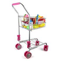 Precious Toys Kids Carrito De Compras Con Comestibles