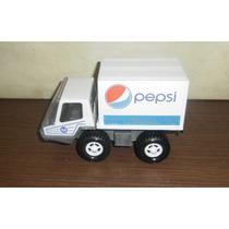 Unico Camion De Pepsi De Chapa Y Plastico