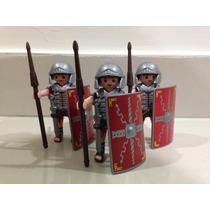 Playmobil Medieval Trio De Soldados Romanos