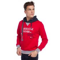 Greenlander - Sudadera Roja - Rojo - 796004380ro