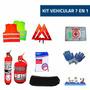 Kit De Seguridad Para Automotor Reglamentario 7 En 1 Oferta!
