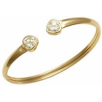 Bracelete Aberto Ouro Estilo Vivara Pandora