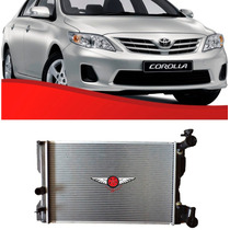 Radiador Toyota New Corolla 1.8 16v 2009 Ate 2011 Aut/mec