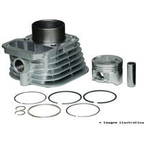 Kit Cilindro Motor + Pistão + Anéis Honda Cbx/nx 200 Strada