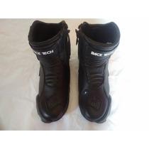 Bota Race Tech - Short Boot - Tamanha 40 Brasil - Preta