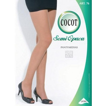 Panty Lycra Semiopaca Cocot Art76 Talle 1 A 4 Panty