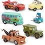 Set Figuras Disney De Cars El Rayo Mcqueen 100% Original