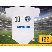 Body Grêmio Tricolor Gaucho Gremio Temos Camiseta Infantil