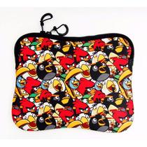 Case Capa Porta Tablet Notebook 10 Santino Angry Birds Neop