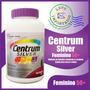 Centrum Silver Multivitamínico Woman / Feminino +50 250 Cap