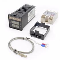Pirometro Digital Controlador De Temperatura Pid Rex-c100