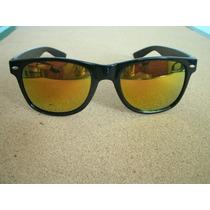 Lentes O Gafas De Sol Wayfarer (retro Vintage) Naranja