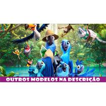 Painel Decorativo Festa Infantil Lona Banner Rio 2 X 1m