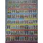 Plancha Con 56 Figuritas Antiguas Gran Match