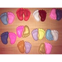 100 Mini Pezinhos Sabonete Lembrancinha Chá Bebê Maternidade