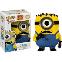 * Carl Minion Mustache # 35 Funko Pop! Mi Villano Favorito 2