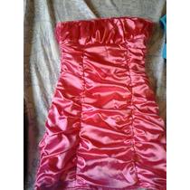 Vestido Fucsia Talla S Acepto Mercado Pago