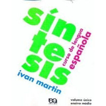 Livro Sintesis - Curso De Lengua Espanhola Ivan Martin