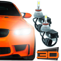 Kit Xenon Lampada Led Luz 3d Automotiva Powerled 7200 Lumens