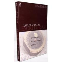 Livro Explorando As Escrituras Visão Geral De Toda A Bíblia