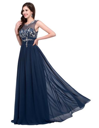 Vestidos azul marino graduacion