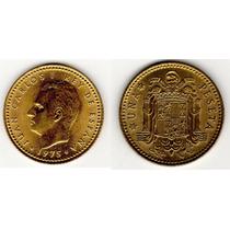 1 Peseta Rey Juan Carlos I(españa) 1975 (bronce,buen Estado)
