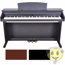 Piano Digital Fenix 88 Teclas Semi Pesadas, Pedais Kadu Som