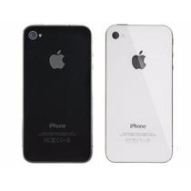 Tapa Trasera Original Iphone 4 4s Blanca Negra
