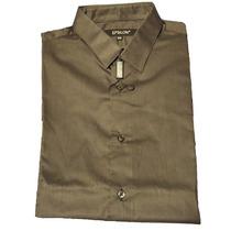 Epsilon Camisa Vestir Slimfit - Tela Italiana - 100% Algodón