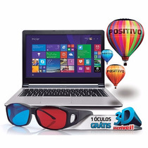 Notebook Positivo Xs8320 Intel I5 6gb Ram 750gb Hd Cd Dvd 3d