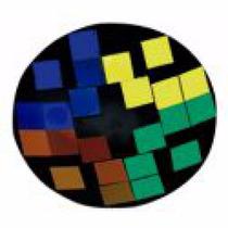 Espejos De Colores Montados En Parábola De Metal De 8,5mm