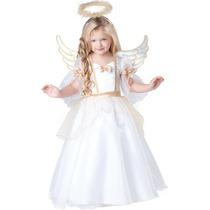 Disfraz Navidad Angel Talla 2, 3 Y 4 Pastorela Posada